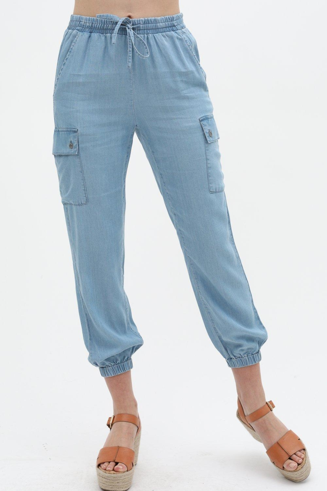 Love Tree Soft Jogger Pant - Front Cropped Image