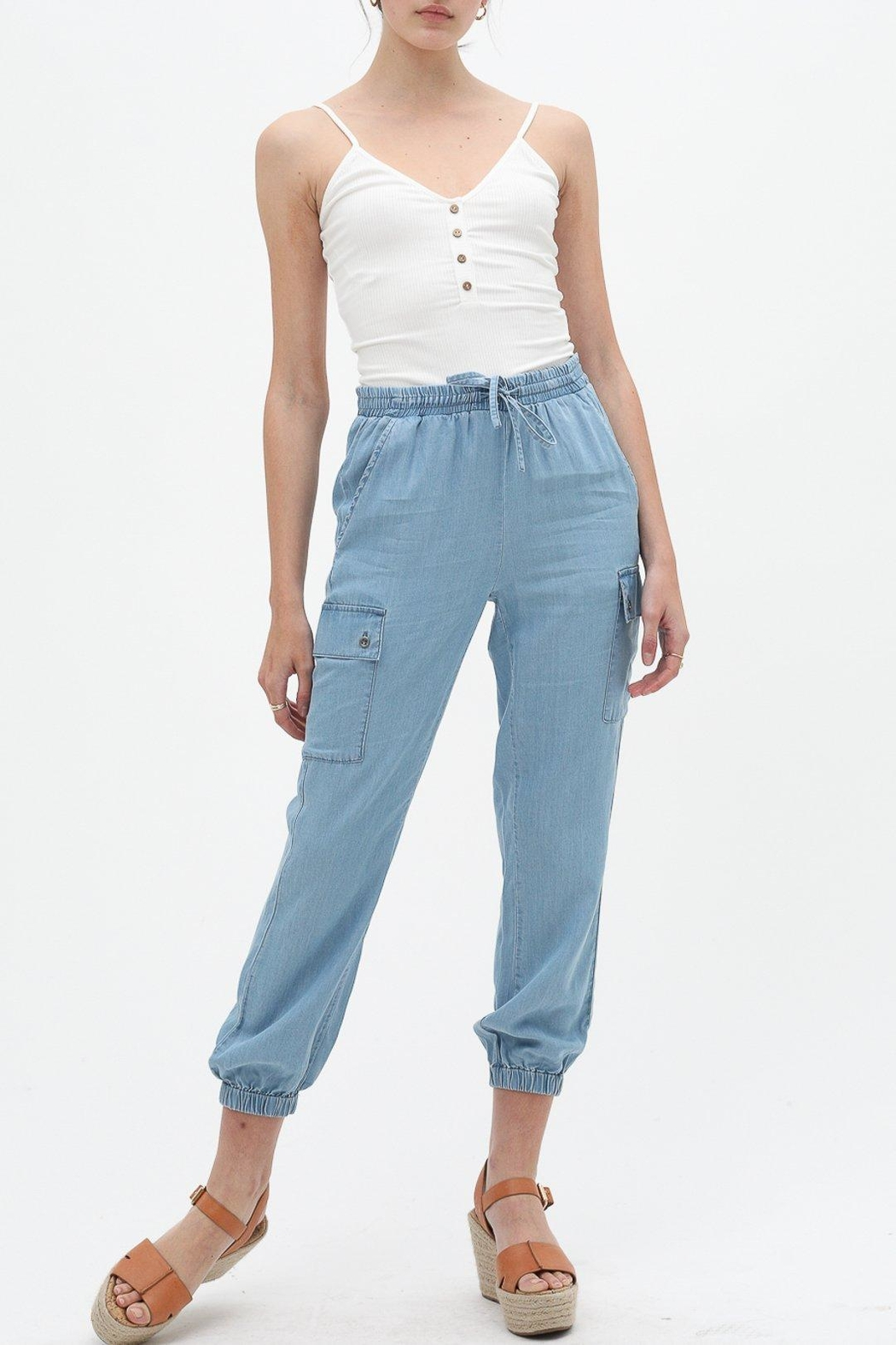 Love Tree Soft Jogger Pant - Side Cropped Image