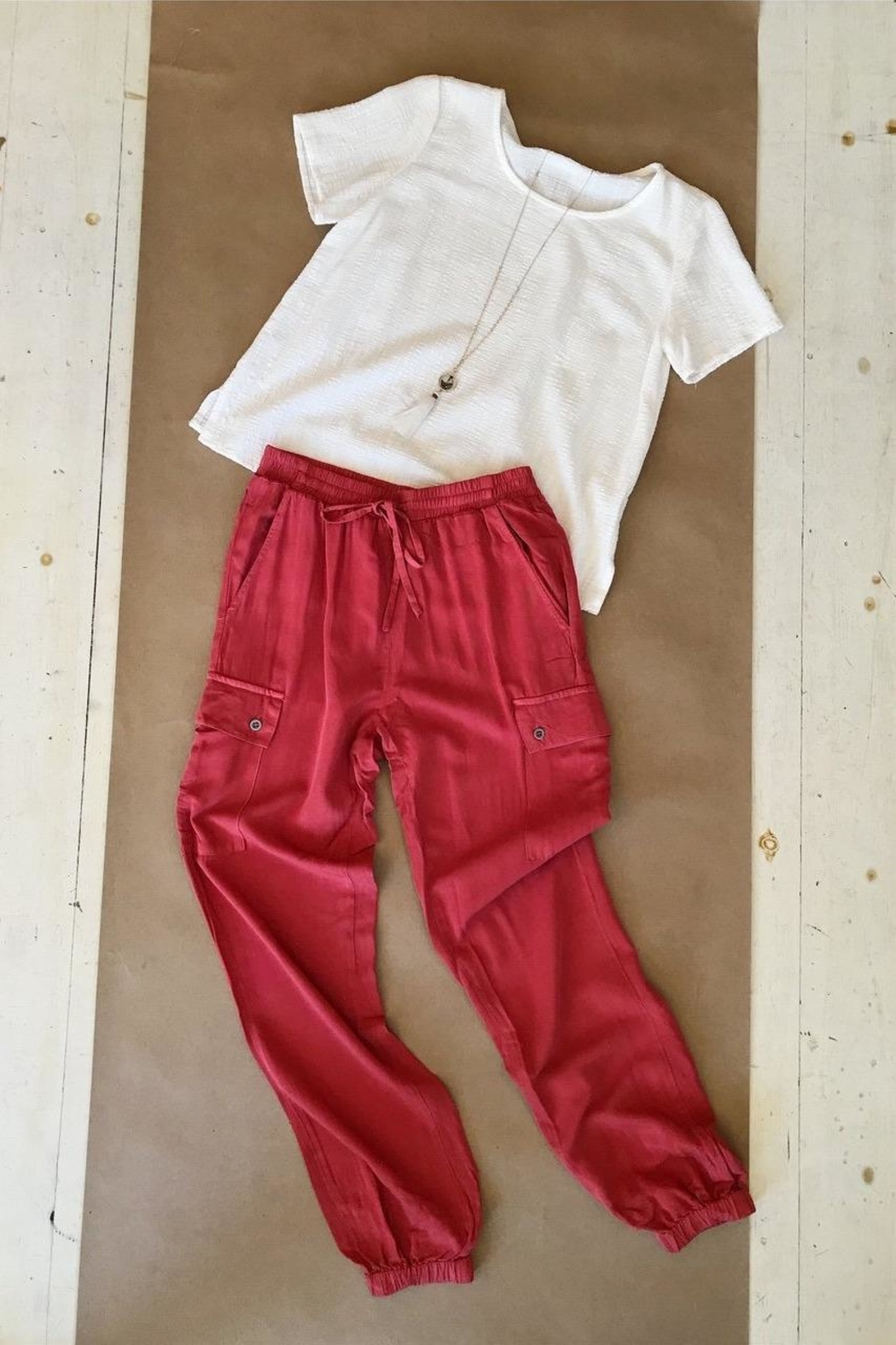 Love Tree Soft Jogger Pant - Front Full Image