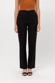 Love Tree Solid Formal Trousers - Front full body