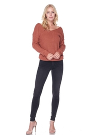 Love Tree Sweater With a Twist - Side cropped