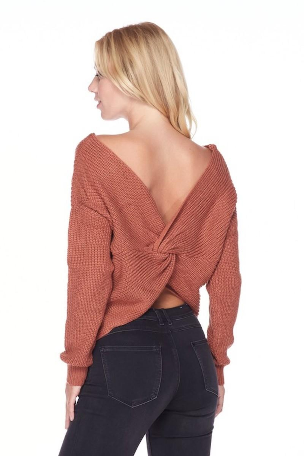 Love Tree Sweater With a Twist - Front Full Image