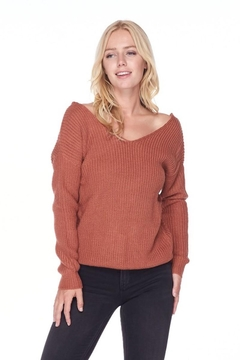 Love Tree Sweater With a Twist - Product List Image