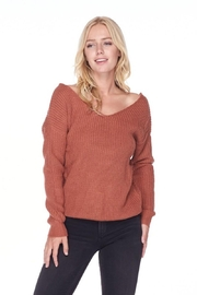 Love Tree Sweater With a Twist - Front cropped