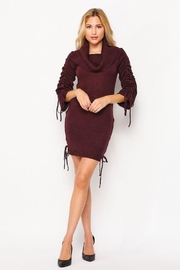 Love Tree Turtleneck Fitted Casual Long Dress - Other