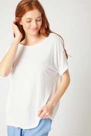 Love Tree Twisted Back Knit Top - Other