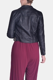 Love Tree Vegan Leather Jacket - Side cropped