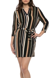 Love Tree Vertical Striped Dress - Product Mini Image