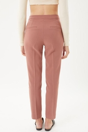 Love Tree Woven Solid Formal Ankle Pants - Other