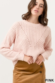 Love Tree Your Blushing Sweater - Product Mini Image