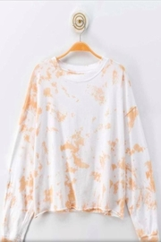 Love Vintage Tie Dye Top - Front cropped