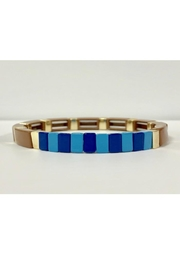 Loveao Jewelry Single Stackable Tile Bracelet - Product Mini Image