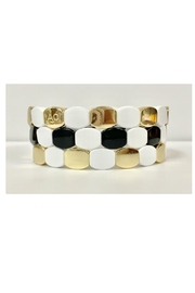 Loveao Jewelry Three Stackable Tile Bracelets - Product Mini Image