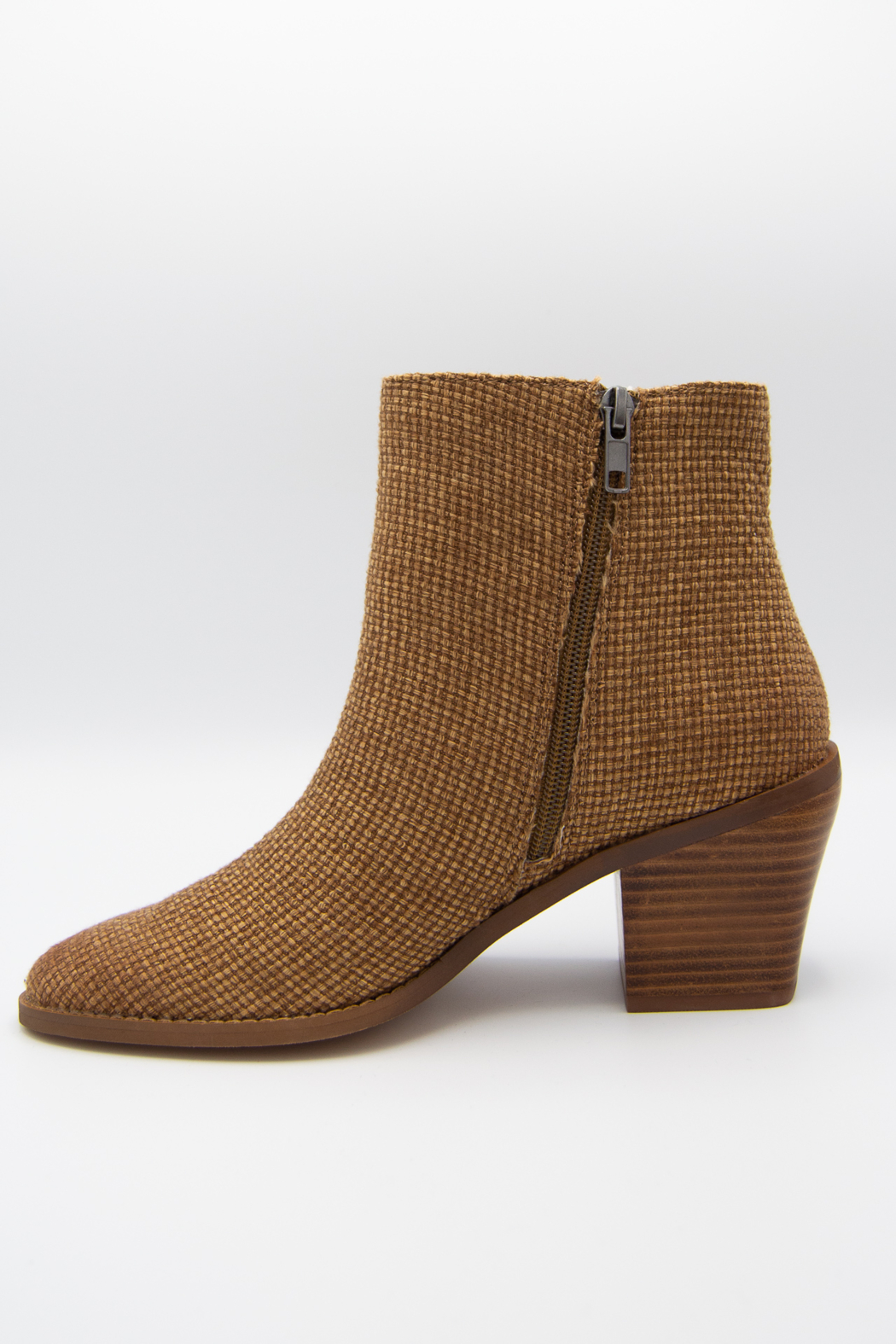 Band Of Gypsies Loveland Woven Jute Canvas Booties - Side Cropped Image