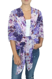 LOVEleigh Grape Kimono - Product Mini Image