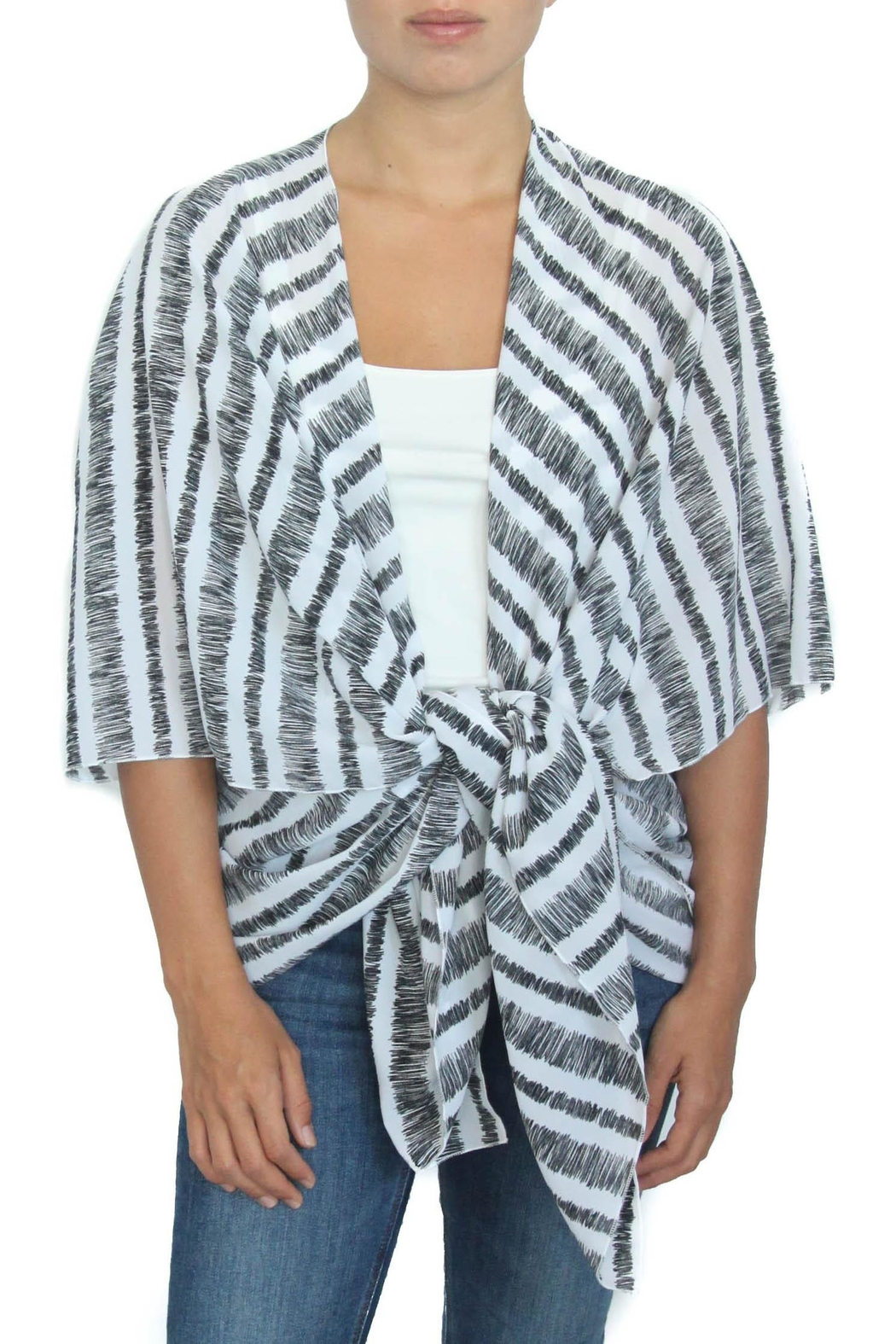 LOVEleigh Mystery Color Kimono - Front Cropped Image