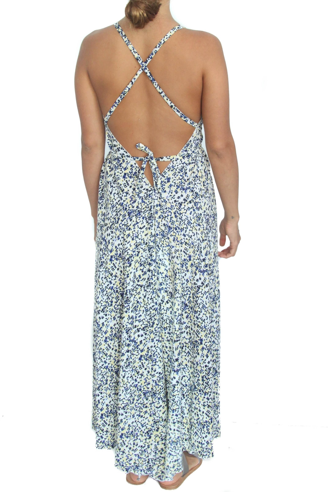 LOVEleigh Lemon Noosa Dress - Front Full Image