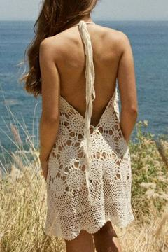 LOVEleigh Short Crochet Dress - Alternate List Image