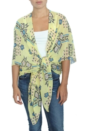 LOVEleigh Yellow Aztec Kimono - Product Mini Image
