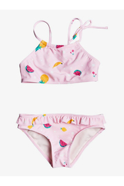 Roxy Lovely Aloha Crop Top Bikini Set - Product Mini Image