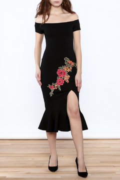 Shoptiques Product: Embroidered Mermaid Dress