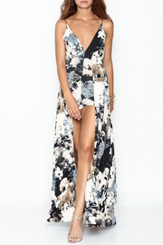 Lovely Day Floral Maxi Romper - Product Mini Image