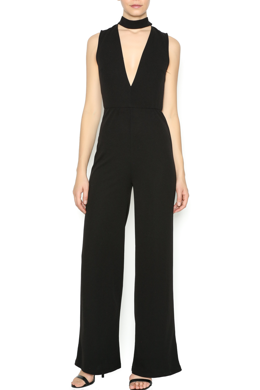 Lovely Day Halter Jumpsuit From Manhattan By Dor L Dor