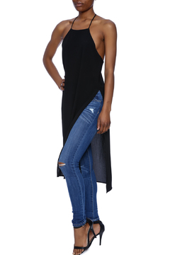 Lovely Day Sheer Black Long Tunic - Product List Image