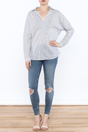 Lumiere Stripe Top - Side cropped
