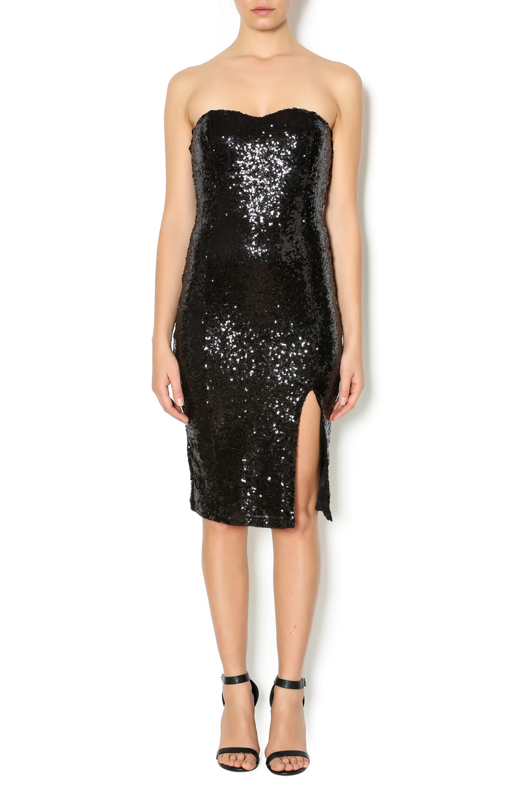 77a0d03c6ebef Lovely Day Strapless Sequin Dress from New York by Dor L Dor ...