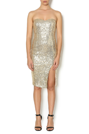 Lovely Day Strapless Sequin Dress - Product Mini Image