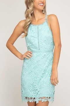 She & Sky  Lovely in Lace dress - Product List Image