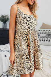 Youmi Lovely in Leopard dress - Product Mini Image