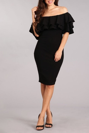 Blvd Lovely In Ruffles dress - Front cropped