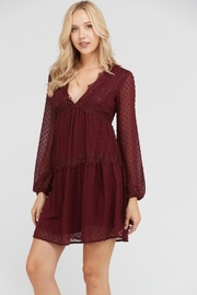n/a Lovely-In-Wine Dress - Product Mini Image