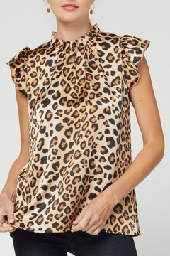 entro  Lovely Leopard top - Product List Image