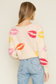 Dee Elly Lovely Lips Sweater - Other