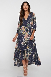 Lovestitch Lovely Navy-Floral Maxi - Product Mini Image