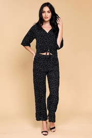 Mine Lovely Polka-Dots Top - Back cropped