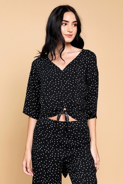 Shoptiques Product: Lovely Polka-Dots Top