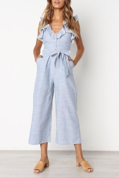 regenbogen Lovely Ruffle Jumpsuit - Product List Image