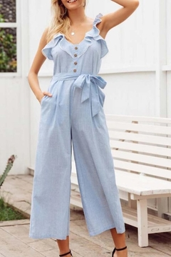 regenbogen Lovely Ruffle Jumpsuit - Alternate List Image