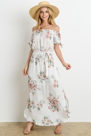 Le Lis Lovely White-Floral Maxi - Product Mini Image