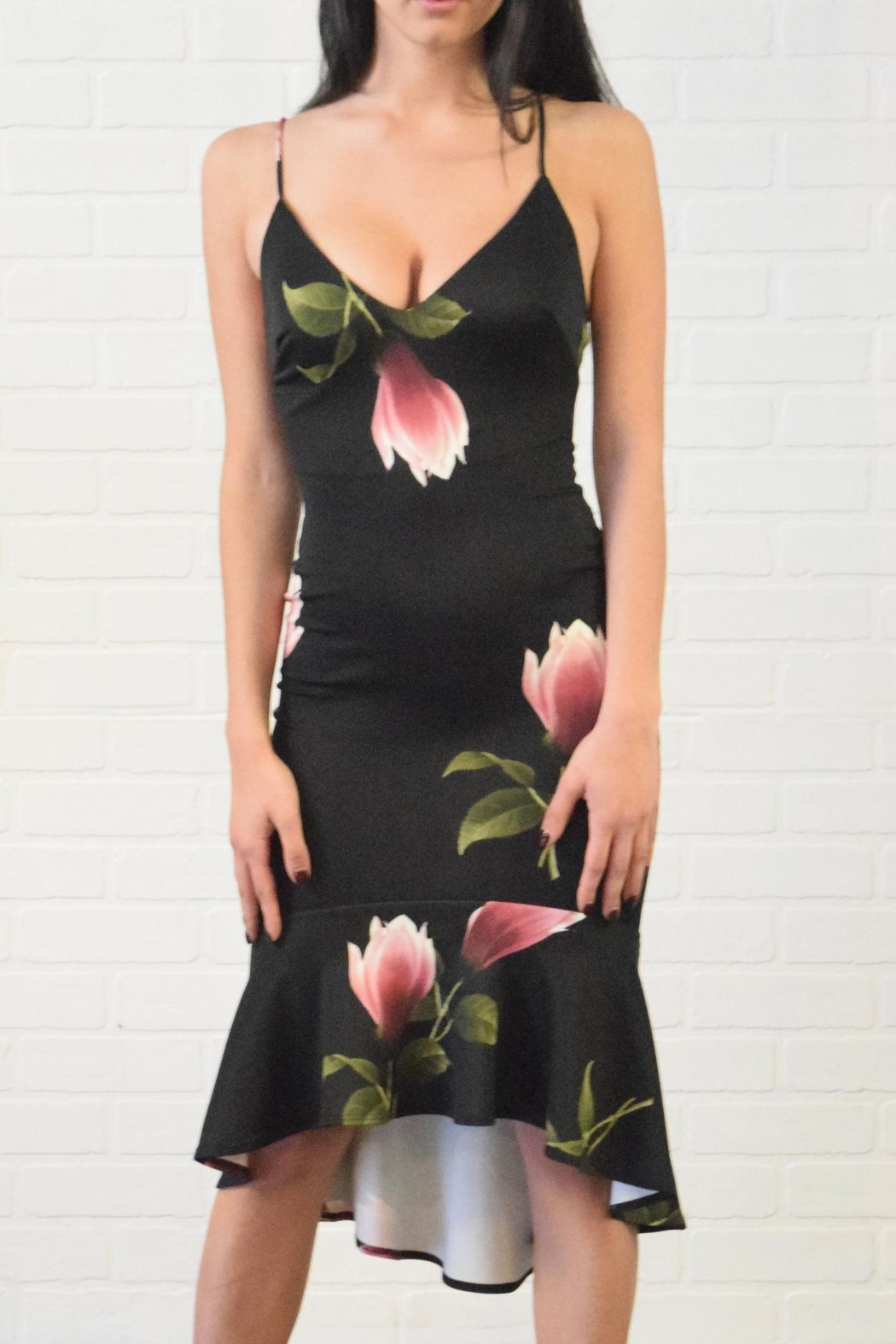 Lovely Day Floral Print Dress - Main Image