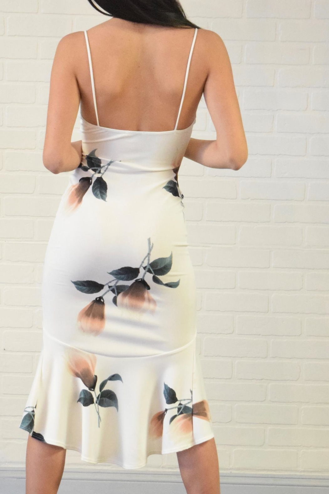 Lovely Day Floral Print Dress - Side Cropped Image