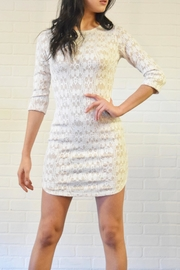 Lovely Day Lace Dress - Product Mini Image