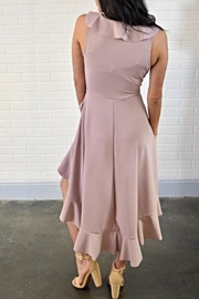 Lovely Day Ruffle Wrap Dress - Side cropped
