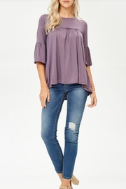 Lovely Melody 3/4 Sleeve Top - Front full body