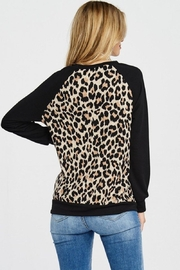 Lovely Melody Animal Print Sweater - Other