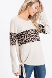 Lovely Melody Animal Print Top - Other